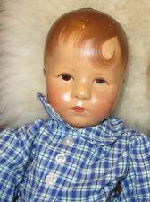 alte KÄTHE KRUSE Puppe  Junge 30er 40er Jahre Hampelchen 45cm