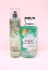 NEW Set of 2 Bath & Body Works Magic in the Air Shower Gel and Fragrance Mist