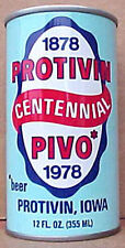 PROTIVIN PIVO CENTENNIAL BEER ss CAN, IOWA, Walter Brewing, WISCONSIN 1978, 1/1+