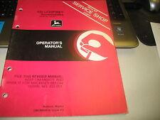 John Deere 440 Liquifire Snowmobiles Operator's Manual Omm69619 F2