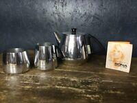 Vintage Retro Sona Domestic Ware Teapot Milk Jug Sugar Bowl Set