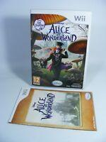 ALICE IN WONDERLAND für Nintendo Wii Spiel EU-Version mit OVP und Anleitung