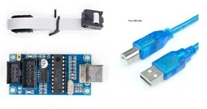 USBtinyISP USB Tiny AVR ISP Programmer Arduino Bootloader Meag2560 UNO R3 Cable