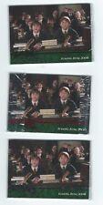 Harry Potter Chamber of Secrets GREEN PROMO set SEALED 4 cards
