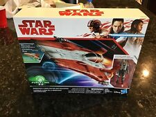 Hasbro Disney Star Wars Force Link 2.0 Resistance A-Wing Fighter (Red Squadron)