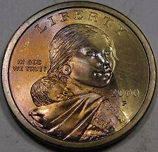 2000-P Sacagawea Dollar Superb Gem BU MS+++  Awesome Color and Super FLASHY!!!