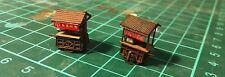Lasercut Food Stand / Stall / Cart - Style B - Builds 2 Per Kit - N Scale