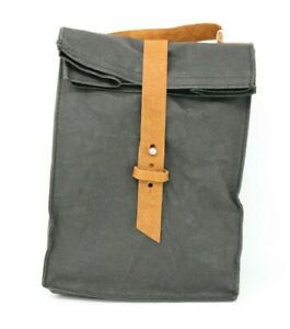 Out Of The Woods Black Ebony Supernatural Paper Sack Style Lunch Bag New NWT