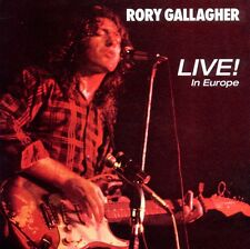 Rory Gallagher - Live! In Europe, 1 Audio-CD
