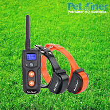 Petrainer PET916N2 Remote Anti Bark Trainer Dog Vibration Only Training Collars
