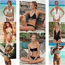 Sexy Bikini Womens Pushup Bandage Bikini Swimsuit Beachwear Bathing Swimwear Lot