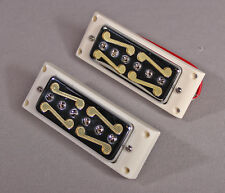 MOUSTACHE PICKUPS NECK & BRIDGE FOR HARMONY,TEISCO,KAY,SILVERTONE Vintage Tone!