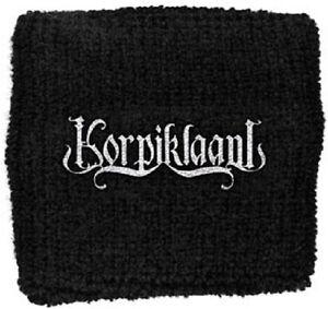 KORPIKLAANI Embroidered Logo Towel Wristband Sweatband Rock Official Merchandise