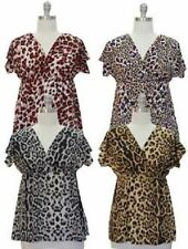 47ce1d14cd52 Animal Print Kimono Sleeve Tops & Blouses for Women for sale | eBay