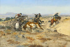 "Charles Russell ""When Cowboys Get In Trouble"""