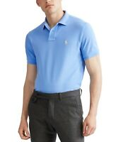 Polo Ralph Lauren Men's SZ M Classic Custom Slim Fit  Polo Shirt Blue