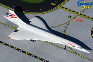 British Airways Concorde G-BOAB Gemini Jets GJBAW1946 Scale 1:400 IN STOCK