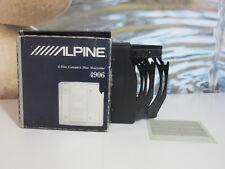 ALPINE 4906 6 DISC COMPACT DISC MAGAZINE. PERFECT CONDITION. IN BOX.