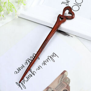 Red Sandalwood Hairpins Wooden Sticks Phoenix Women Hair Clips Hair Accessories
