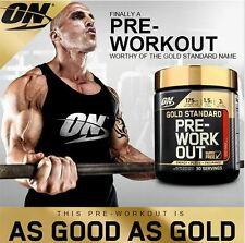 Optimum Nutrition ON GOLD STANDARD PRE WORKOUT 30 Servings FRUIT PUNCH