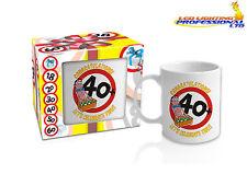 40th BIRTHDAY MUG FOR MEN READY GIFT IN A BOX PRESENT - 300ml