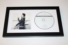Singer Conor Maynard Hand Signed Framed 'Contrast' CD Cover Booklet w/COA