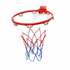 Metal Hanging Basketball Wall Mounted Goal Hoop Rim Nets Sport Netting Indoor