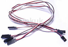 10x 500mm Male Female Servo Extension Wire Cable Lead Universal JR Futaba 50cm