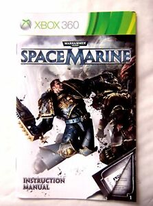 57027 Instruction Booklet - Space Marine - Microsoft Xbox 360 (2011)