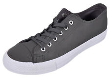 New Mens Flat Plimsolls Canvas Shoes Stylish Comfy Slip on Lace up Trainer Size