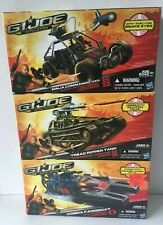 GI JOE: Retaliation  NINJA COMMANDO,TREAD RIPPER TANK & FANGBOAT FREE SHIPPING