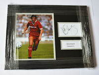 FRAMED KENNY DALGLISH LIVERPOOL HAND SIGNED PHOTO DISPLAY COA AUTOGRAPH