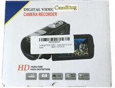 Camking Video Cámara Videocámara HDV-312 24MP HD 1080P Zoom digital de 16X