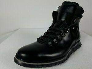 Cole Haan Zerogrand Hiker 2 Boot Men's 11.5 Wide Black Leather Waterproof C30403