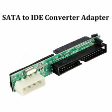 "SATA SSD HDD Female Hard Drive To IDE 3.5"" 40 Pin Male Converter Card Adapter US"