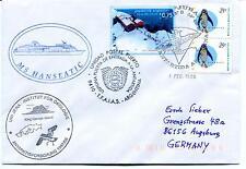 M/S Hanseatic Uni Jena Institit fur Okologie Jubany TFAIAS Polar Antarctic Cover