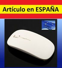 RATON OPTICO blanco por usb WIRELESS para ordenador apple mac gadget pc mouse