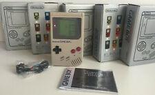 Original Nintendo Game Boy Handheld Console Boxed + Manual & Headphones #4