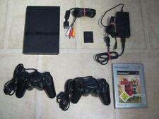 Playstation 2 Slim komplett + 2 Controller + Spiel Jak and Daxter