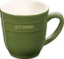 Staub ceramica tazza tazza da caffè tazza da caffè tondo verde Basilico 0,35L