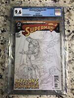 The Adventures of Superman Kryptons Destroyer #625, CGC 9.6
