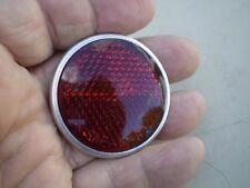 Gulotta 375 Stimsonite 10 Red 1 3/4 Bicycle Reflector Schwinn Shelby Monark