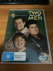 Two And A Half Men : Season 3 (DVD, 2008, 4-Disc Set)