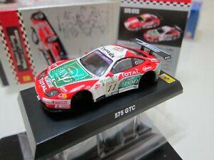 Kyosho - Ferrari Racing Collection - 575 GTC no.11 - Scale 1/64 - Mini Car D10