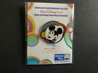 WDW - United Way Participant 2007 - Mickey Mouse Disney Pin 56603