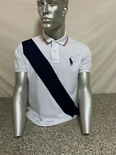 POLO RALPH LAUREN T-SHIRT SWEATSHIRT SWEATER SHIRT UOMO MAN BIANCO WHITE PU-516