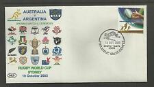 AUSTRALIA 2003 RUGBY WORLD CUP Opening Match & Ceremony AUST v ARGENTINA Cover