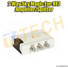 Sky Magic Eye 2 Way Splitter Amplifier for Control of 2 Magic Eyes TV Amp
