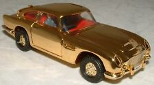 JAMES BOND : GOLD PLATED ASTON MARTIN DB5 (XP)