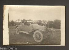1 CARTE  PHOTO : SOLDAT DANS UNE VOITURE Juin 1915